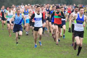 The start of the Senior Men's race