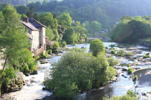 The River Dee rises in Snowdonia, where we are heading