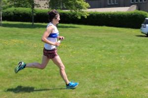 A fast, downhill finish in Criccieth