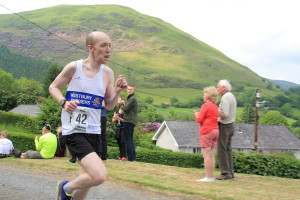 On leg 7, Scott had a tough run to Dinas Mawddwy (luckily, he didn't have to ask the way)