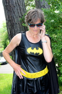 'You're wanted on the bat-phone'